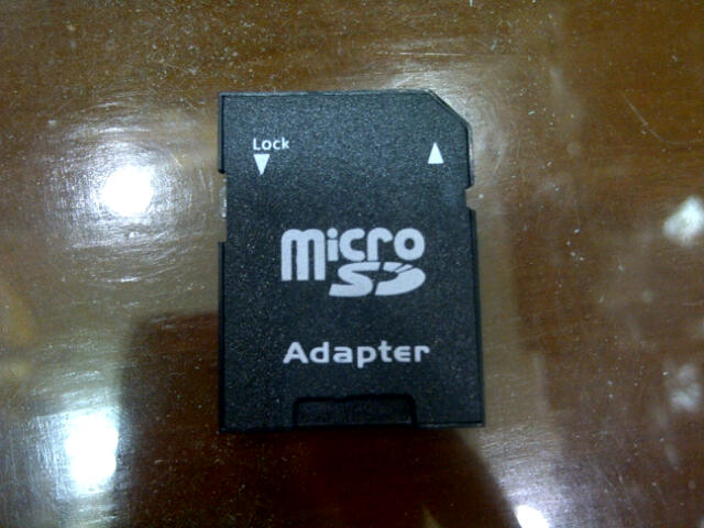 Adapter Memory Micro SD