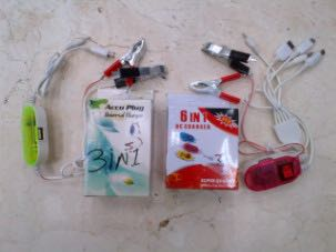 Charger Aki 3 in 1
