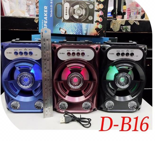 Speaker Bluetooth DB-16