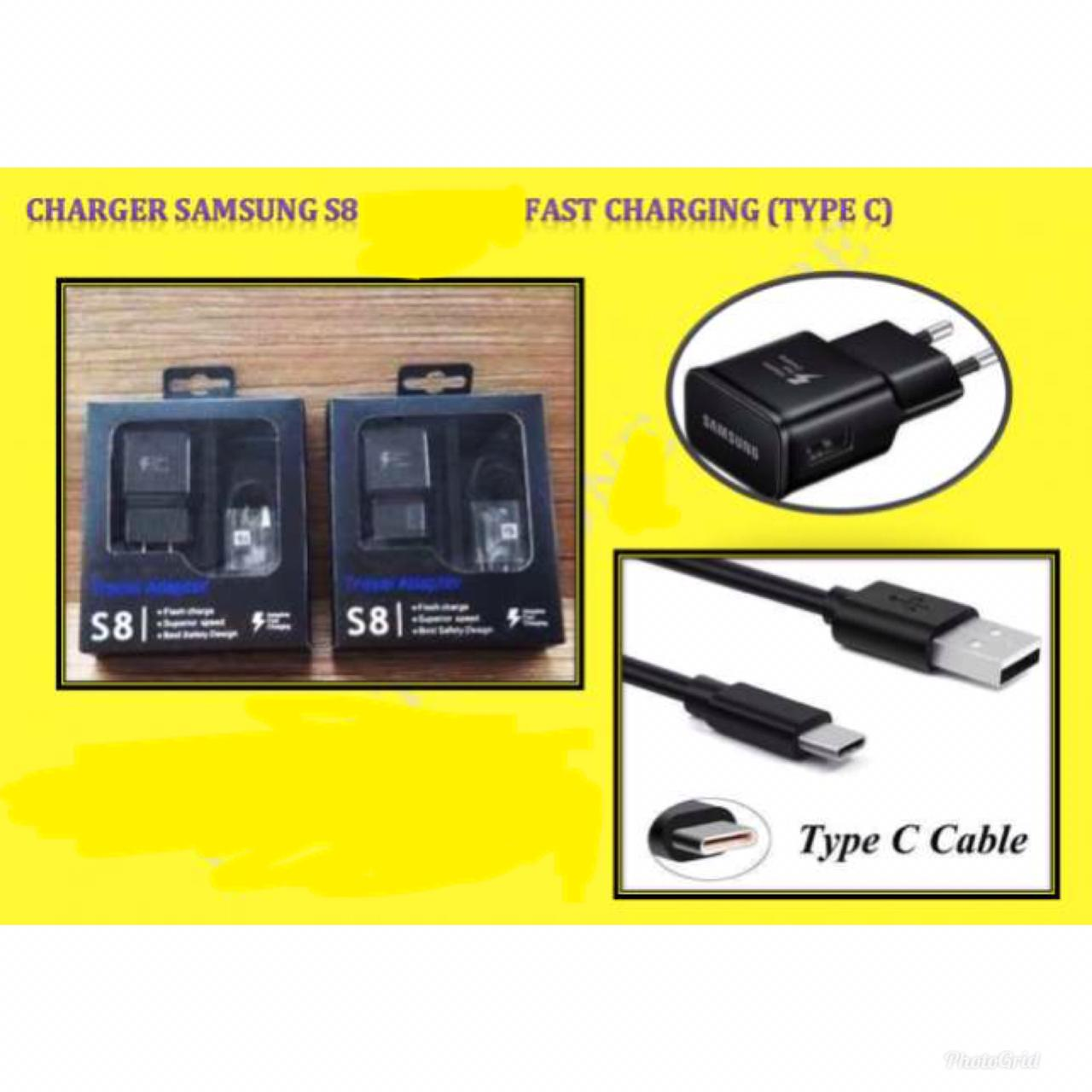 Charger Samsung S8 Ori100% Fast Charging