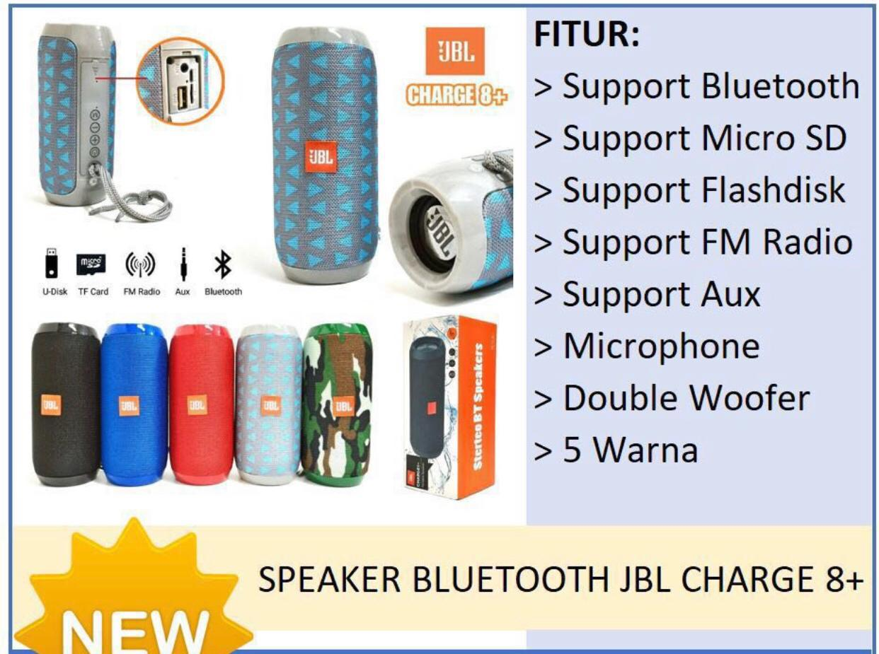 Speaker Bluetooth JBL TG117 / Charge 8+