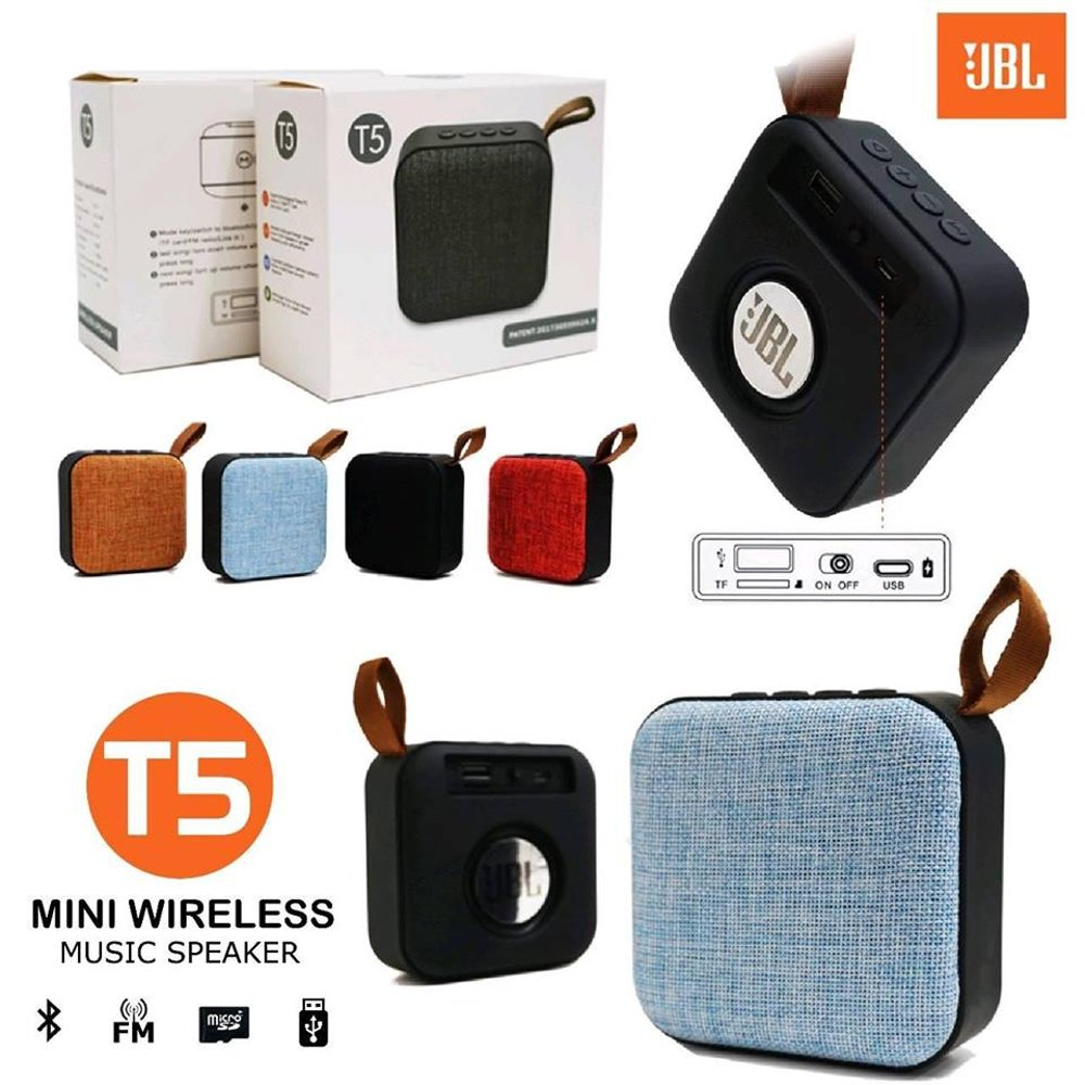 Speaker Bluetooth JBL T5 (Best Seller)