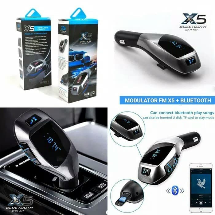 Modulator Bluetooth FM X5