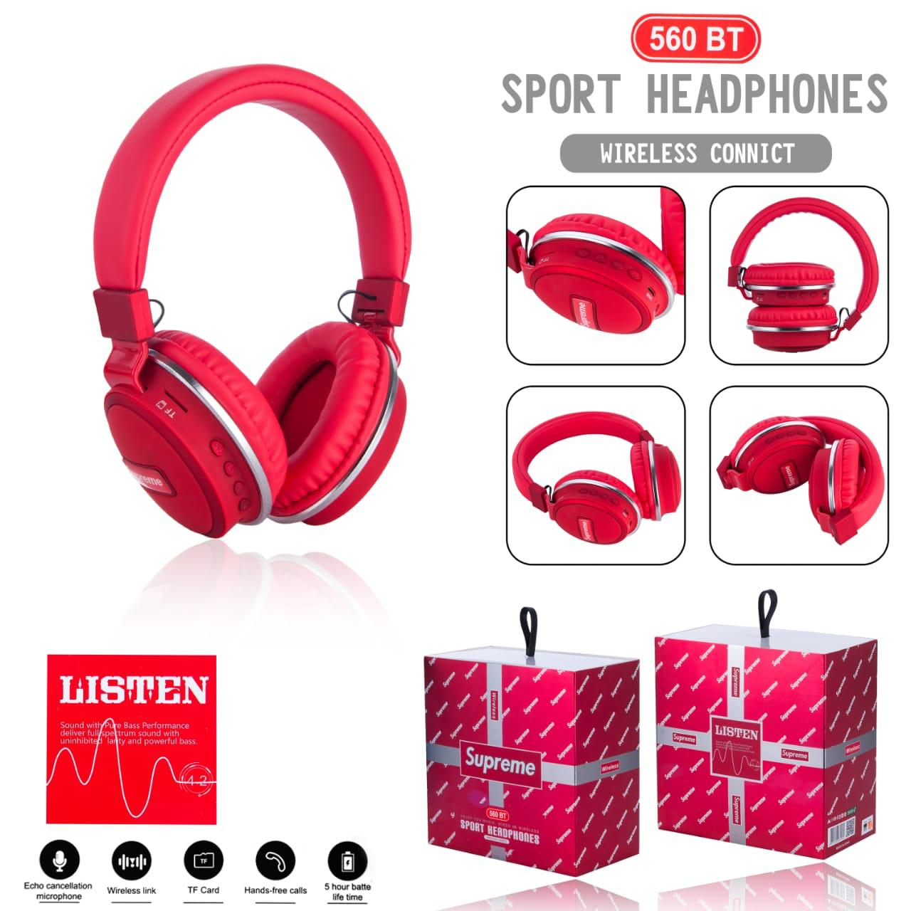 Headset Bando Bluetooth Supreme (limited edition)