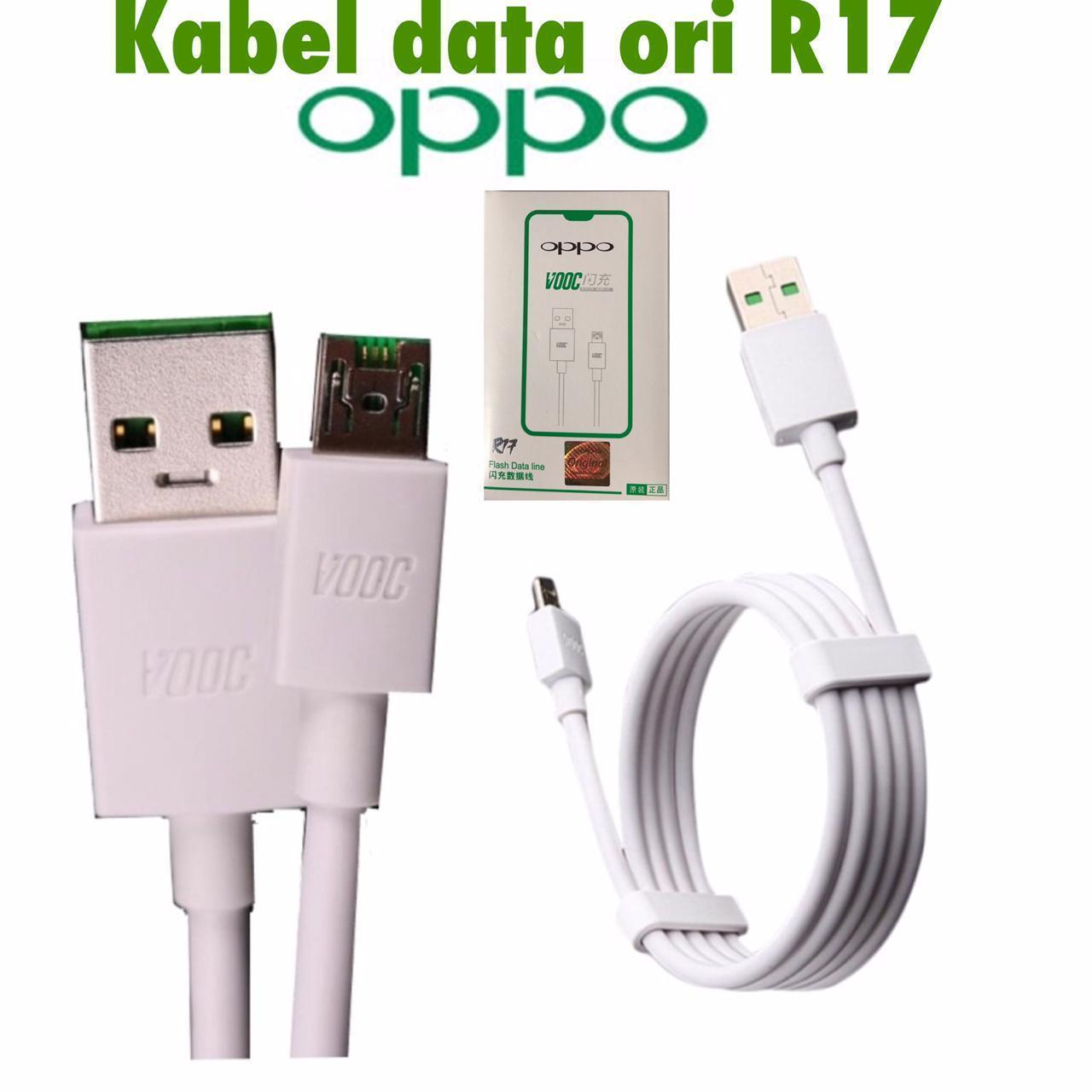 Kabel Data Oppo R17 Ori 100%