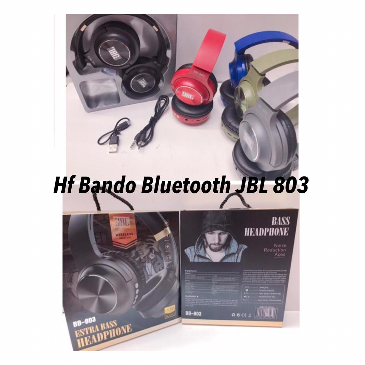 Headset Bando Bluetooth JBL 803