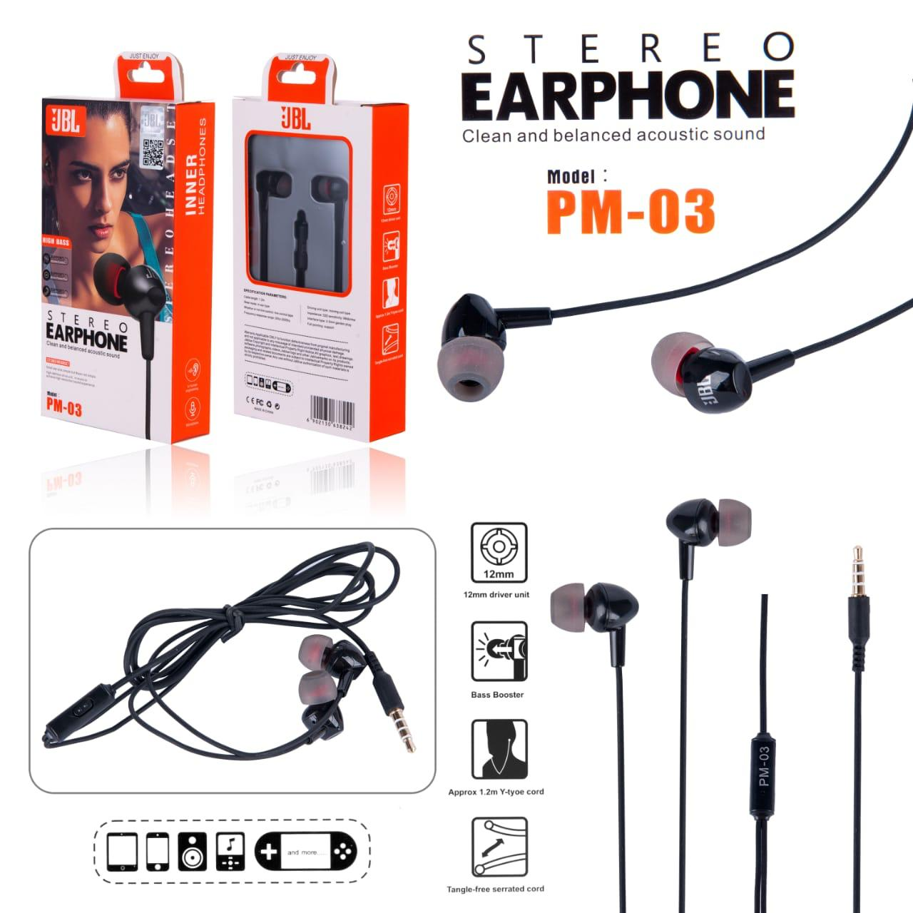 Handsfree JBL PM-03 New