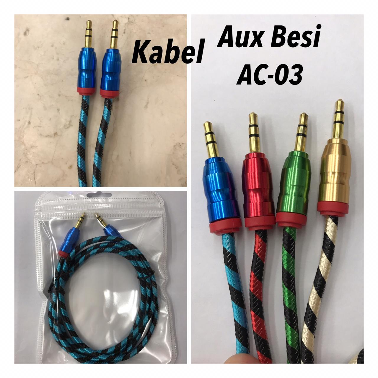 Kabel Aux 1 in 1 Besi AC-03