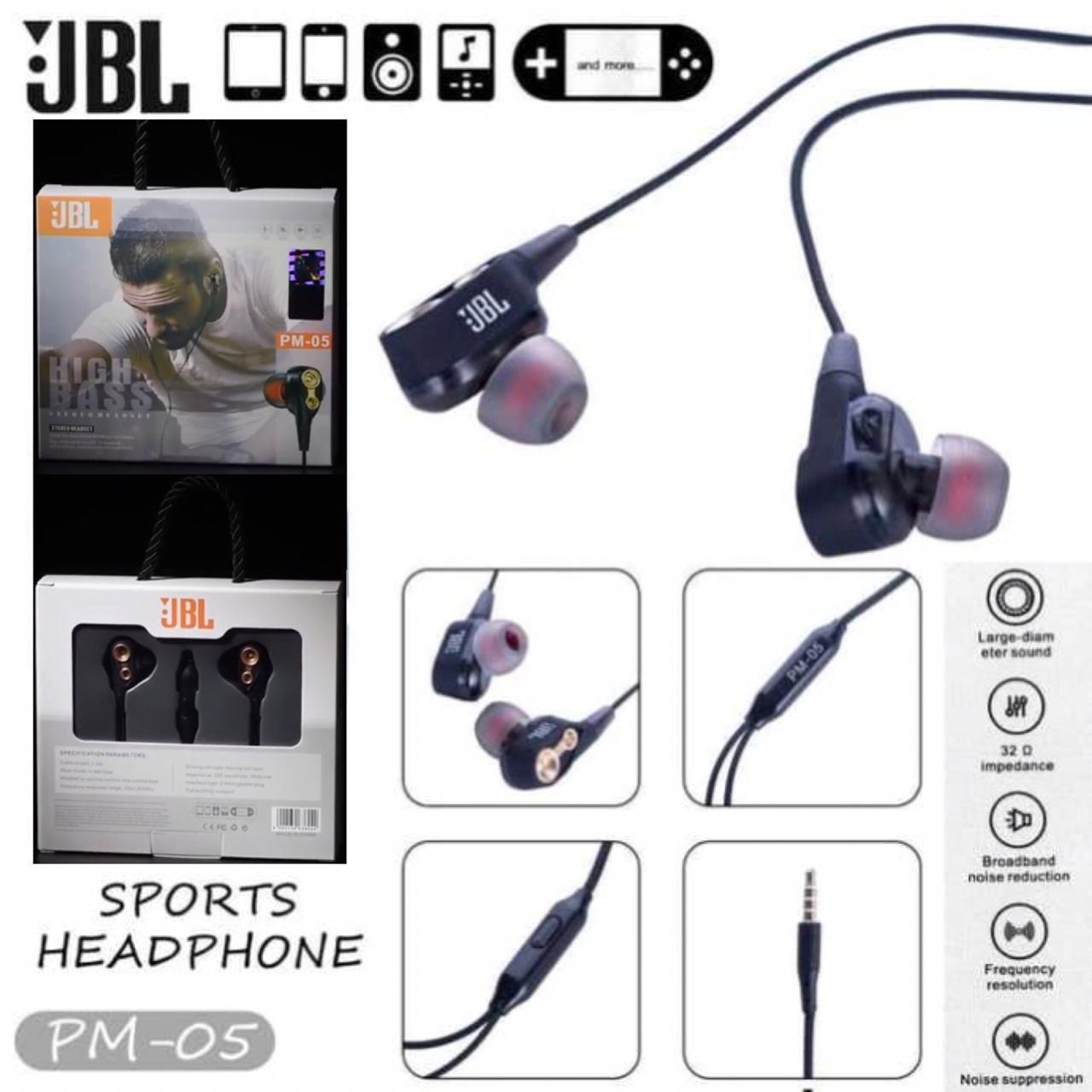 Handsfree JBL PM-05 Packing Baru