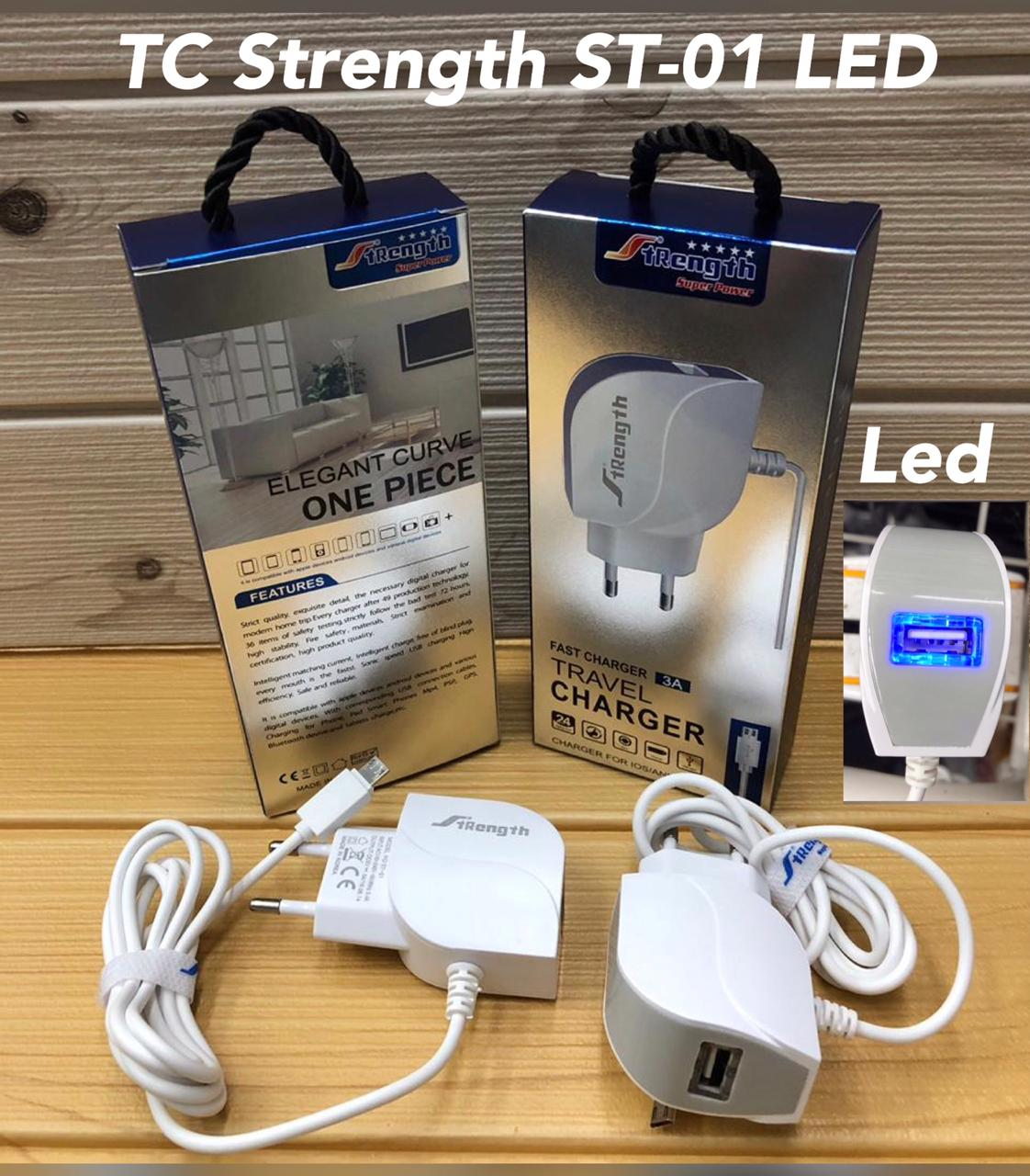 Charger Strength ST-01 + USB LED