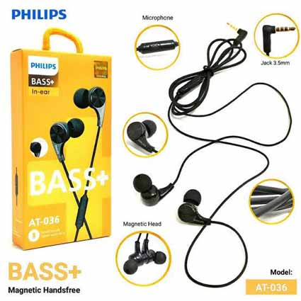 Handsfree Philips AT-036 Magnet (Best Seller)