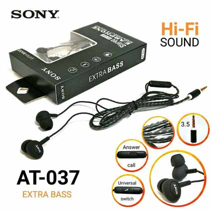 Handsfree Sony AT-037 Extra Bass