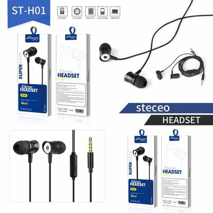 Handsfree Strength + Mic ST-H01