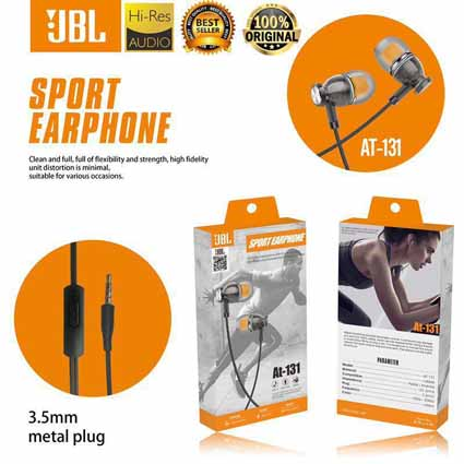 Handsfree JBL AT-131 Model Kuping Transparan