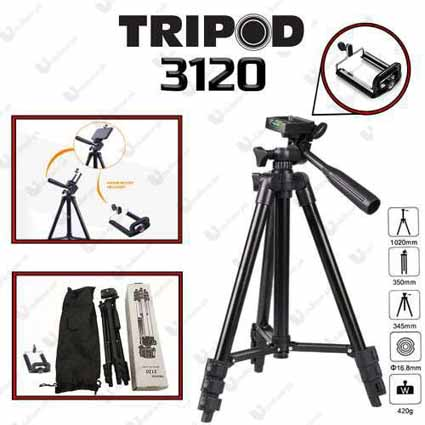 Tripod 1 Meter 3120 Black Edition