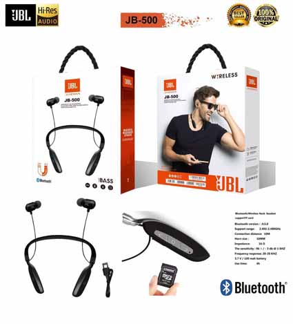 Handsfree Bluetooth JBL JB-500 + slot Memory