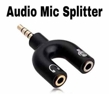 Audio Mic Splitter