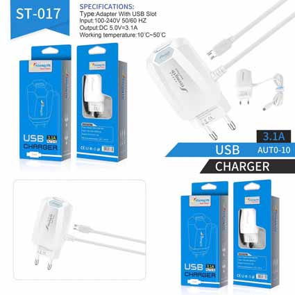 Charger Strength ST-017 + USB 3.1A