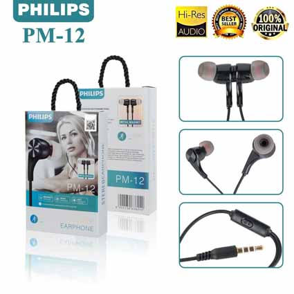 Handsfree Philips Magnet PM-12 Bagus