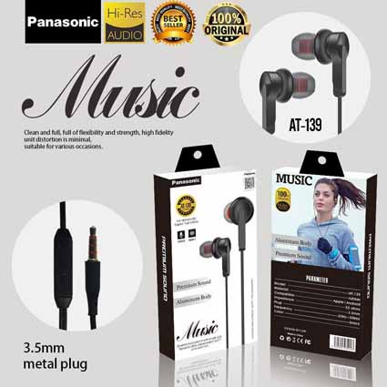 Handsfree Panasonic AT-139