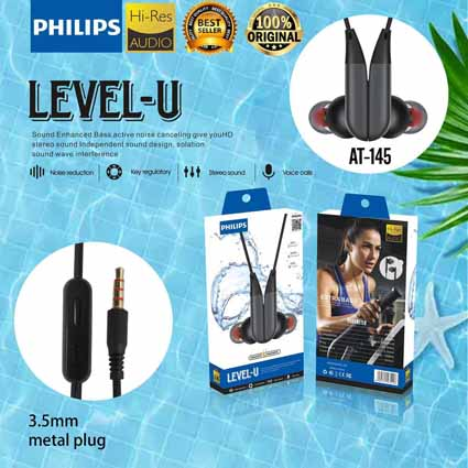 Handsfree Philips Magnet AT-145 Model Level U