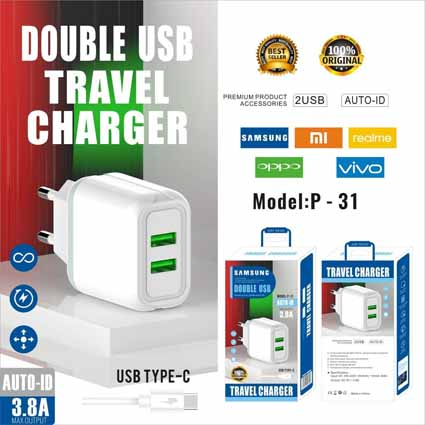 Charger Branded P31 Colokan Type C