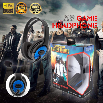 Headset Bando Game X9 + Mic