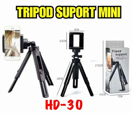 Tripod Support Mini HD-30