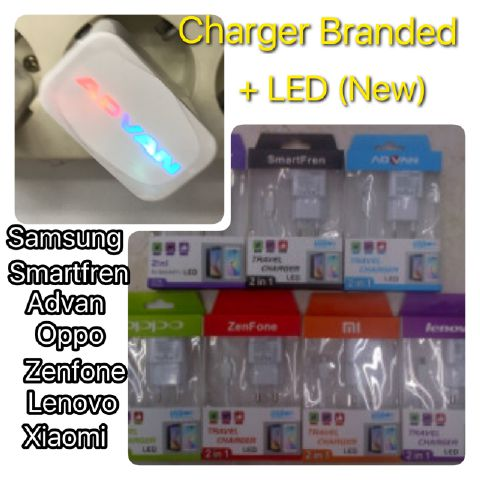 Charger Branded + LED (New)