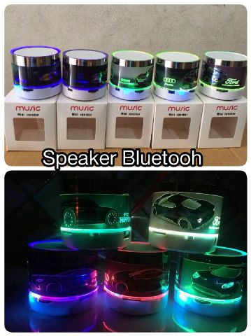 Speaker Bluetooth LED