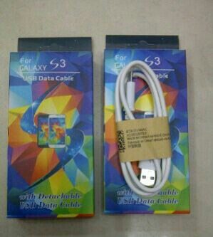 Kabel Data Samsung S3 + Packing