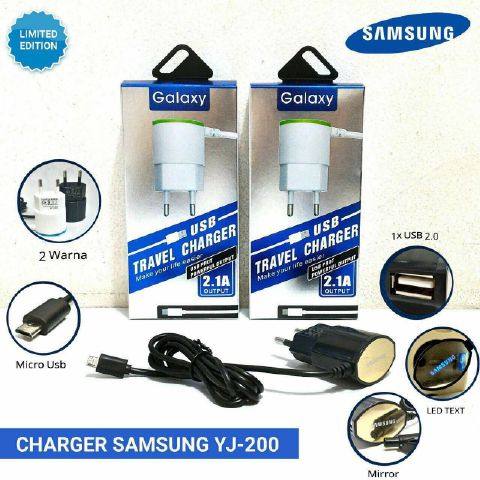 Charger Samsung  YJ-200 + USB + LED
