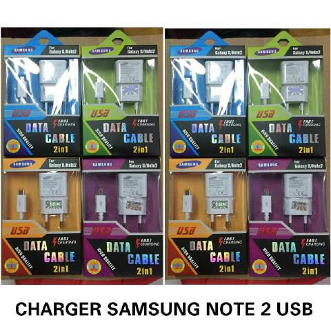 Charger Samsung USB Note 2 (New)