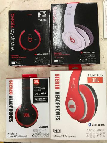 Headset Blutooth Bando JBL dan Beats