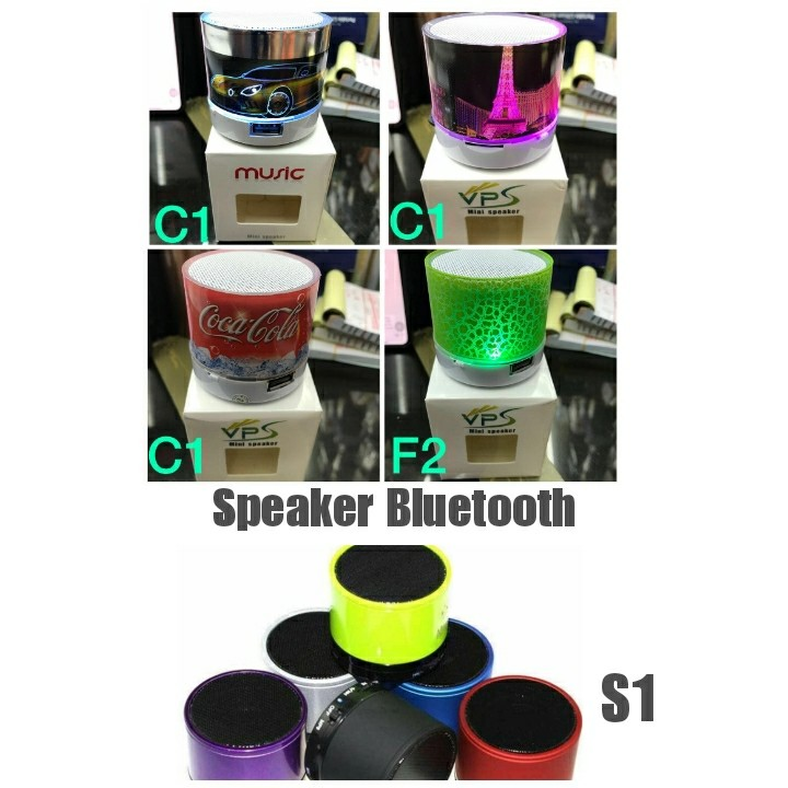 Speaker Bluetooth LED C1 Motif