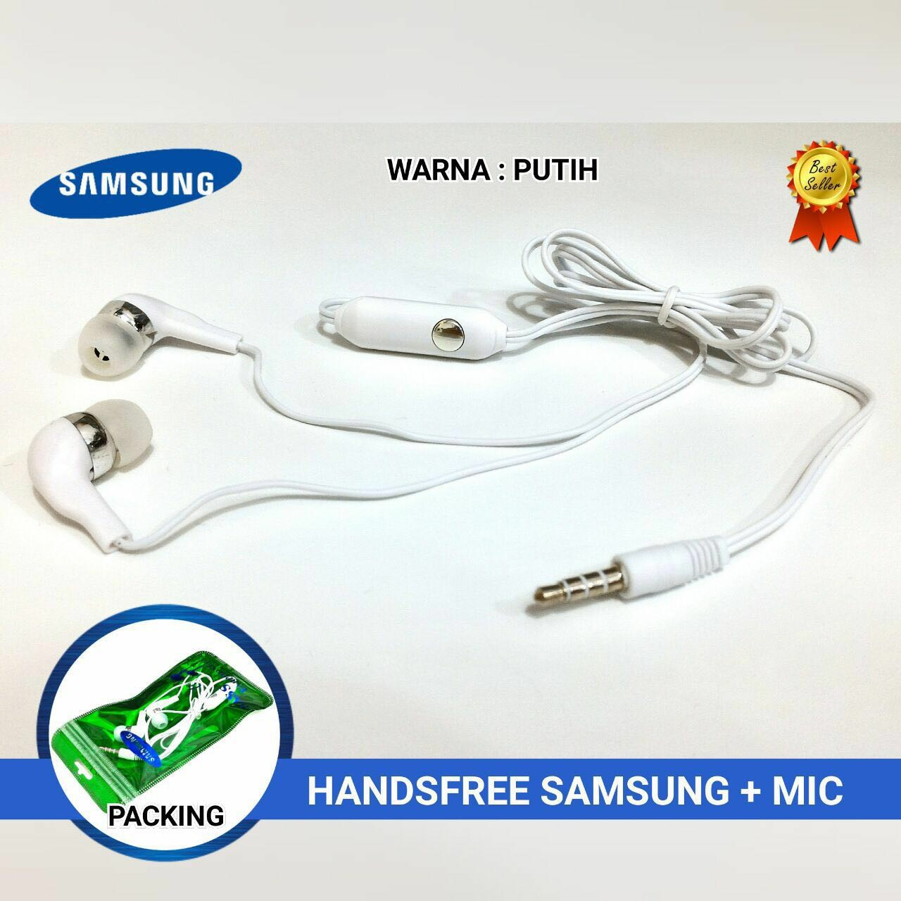 Handsfree Samsung Superbass + Mic Murah