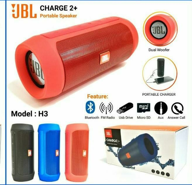 Speaker Bluetooth + Powerbank JBL H3​