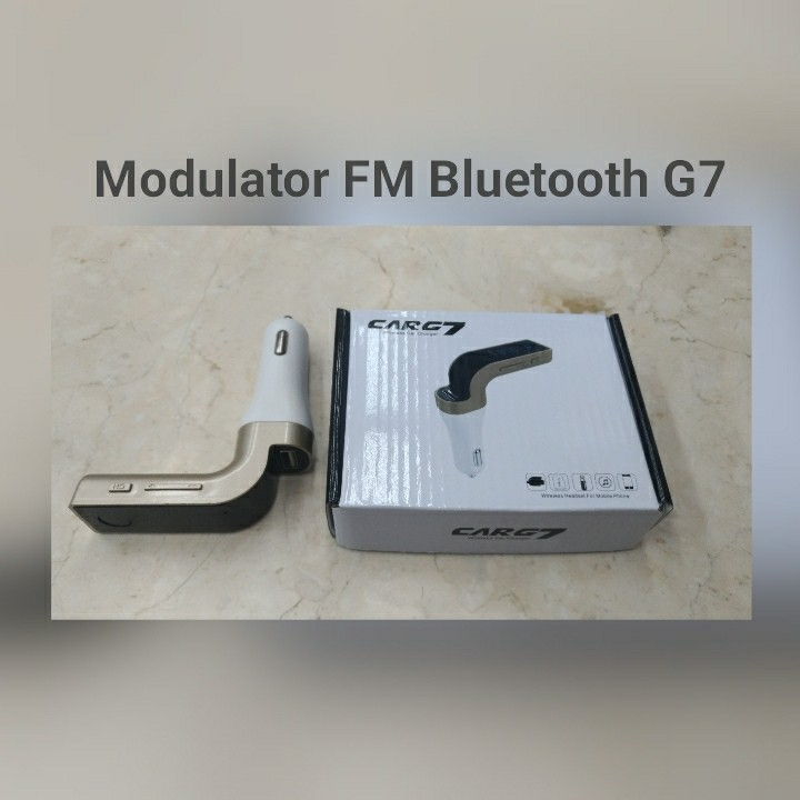 Modulator FM Bluetooth G7