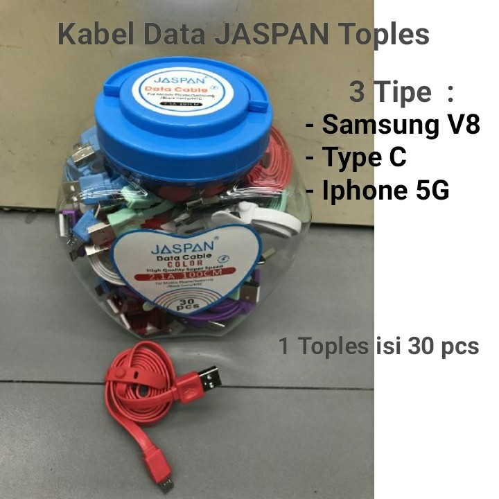 Kabel Data JASPAN Toples