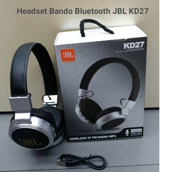 Headset Bando Bluetooth JBL KD27