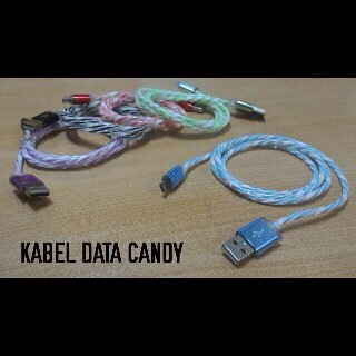 Kabel Data Candy Warna/i