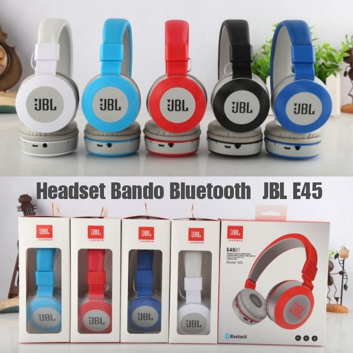 Headset Bando Bluetooth JBL E45