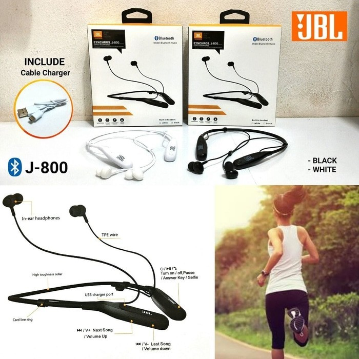 Handsfree Bluetooth Sport JBL J-800